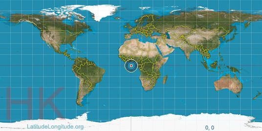 latitude map