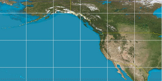 Los Angeles Latitude Longitude - Longitude and latitude of the united states