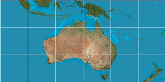 Australia Map With Latitude And Longitude.Perth Latitude Longitude